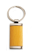 Rectangle Wooden Keyring
