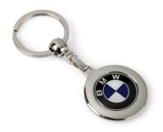 Global Double Dome Keyring