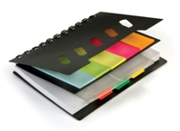 Notebook Organiser with Sticky Notes