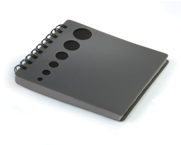 Notebook with CD Sleeve - Black