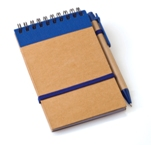 Eco-Friendly Punk Notebook-Royal Blue