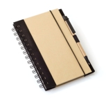 A5 Eco Recycled Notebook-Black