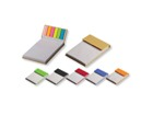 Handy Memo with sticky notes - Available in various colours