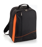4 Set Picnic Backpack - Black/Orange