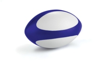 Fan Bottle Rugby Stress Ball-Blue/White