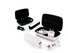 USB Travel Set  - Available in: Black or White