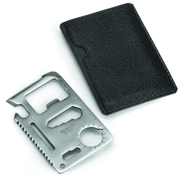 Slim Multi Card Tool - Silver