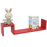 Shelf Set Wooden - Red