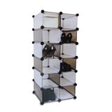12 Section Cube Shelving