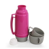 1 Litre Plastic Thermo Flask - Avail in Blue, Red or Green