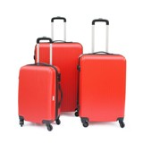 3 Pc Luggae Trolley Set- Avail in Red, Silver, Black or Navy