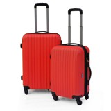 Luggage - ABS 2 Pcs Trolley - Avail in Red, Navy or Blue