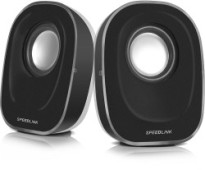 SpeedLink Topica Stereo Desktop Speakers – Black