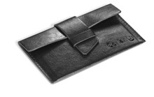 Fabrizio Business Card Holder - Avail in Black or Brown