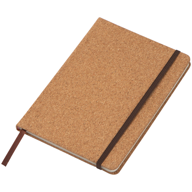 A5 notebook/journal wrapped in a cork-finish. 160 lined pages, b