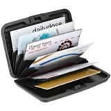 Credit/Business card holder/wallet with 9 compartments.