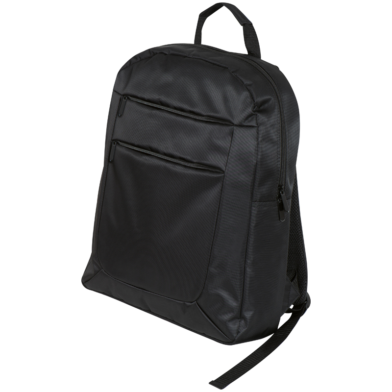 High Quality polyester laptop backpack with various compartments