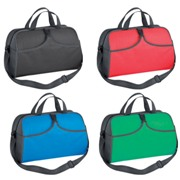 Cooler bag with two carrying straps and a shoulder strap