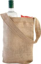 Eco friendly hessian shoulder bag