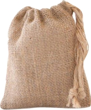 Small Eco Friendly hessian gift bag