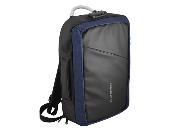 Atom Anti-Theft Laptop Backpack - Blue