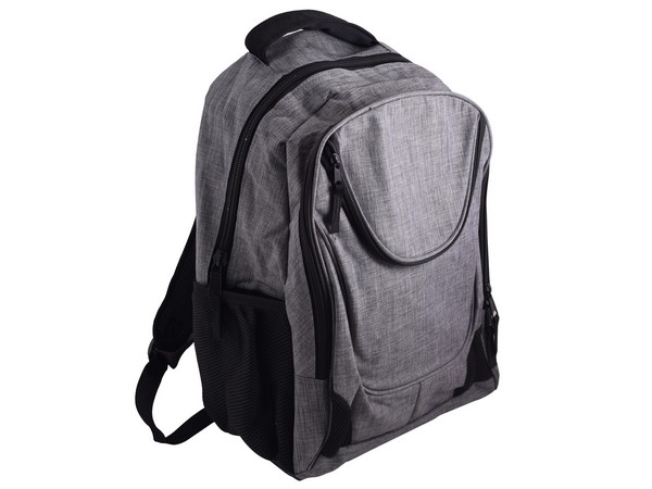 Olympus Laptop Backpack - Grey/Black
