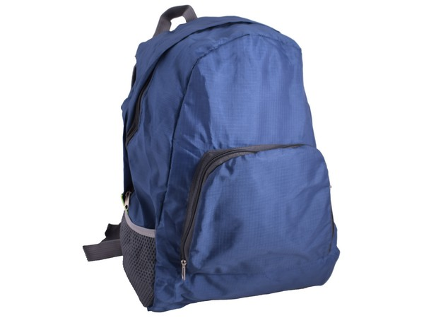 Foldable Backpack - Avail in Black or Blue