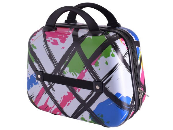 Marco Modern Art Vanity Case - 14 inch. Multicoloured