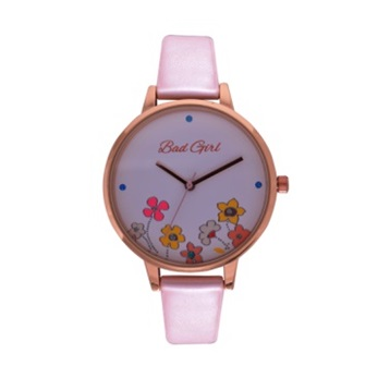 In-Bloom Pink & Rosegold Watch