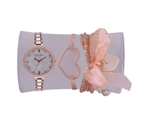 Ladies Gift Set. Watch & Jewellery Set in Gift Box