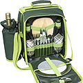 2 Person Picnic Shoulder Bag - Green