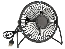 Black USB Desk Fan