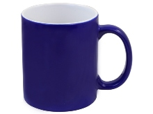 Heat Change Sublimation Mug - Avail in blue or black
