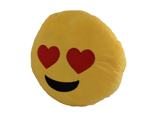 Emoji 40cm Cushion - Heart