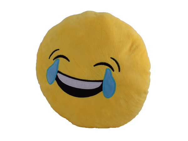 Emoji 40cm Cushion - Tears