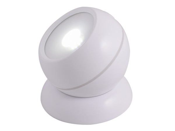 White 360 Degree Rotating Light