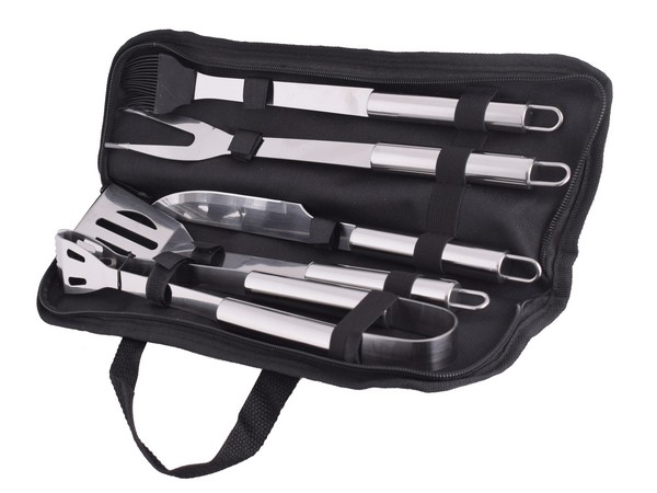 5-Piece Stainless Steel Braai Set