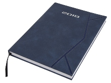 Tribute Diary A4- Avail in: Navy or Brown