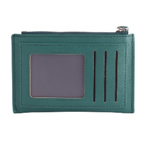 Unapologetic Purse Green & Silver