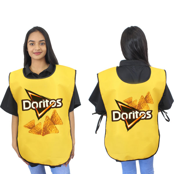 300D Bib Apron (Can take full colour print)