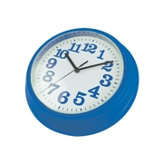 Funky wall clock - Available in many colors