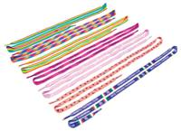 Shoelaces with one colour print per pair - Min Order 100