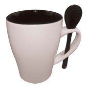 Mug and spoon - Available in many colors