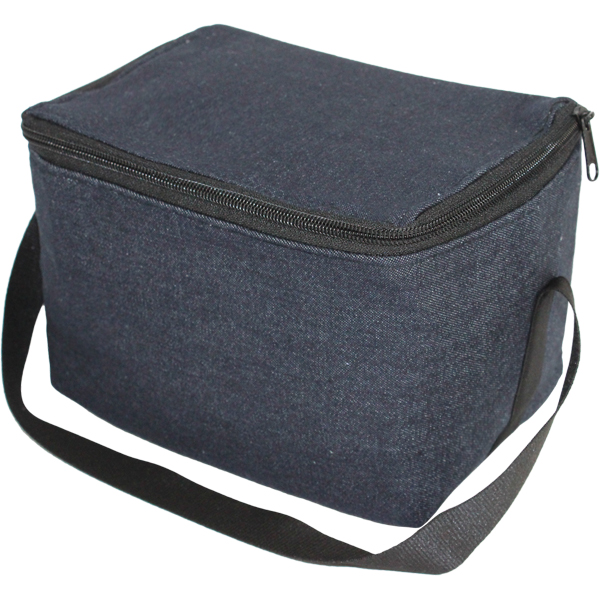 Denim 6 can Lunch cooler. EACH (W)200 (L)130 mm