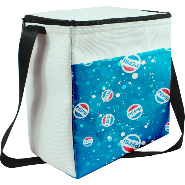 Aurora Cooler with full colour branding on pocket   EACH (H)220