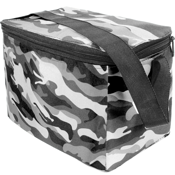 Camo 6 Can Cooler. EACH (H)130 (W)200 mm