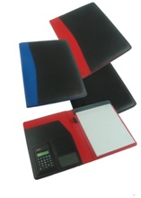 Taxi A4 folder - Available in Black, Blue or Red