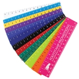 15cm Ruler - Available in many colors