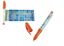 Regis Banner pen - Available in many colors