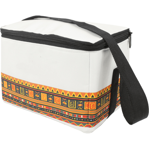 6 can Tribal African Design Cooler